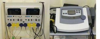 電気治療のマシンの画像